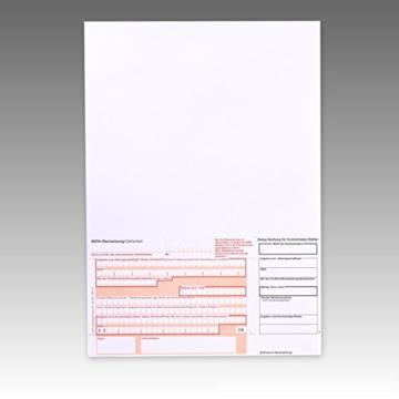 1000 x SEPA – Überweisungsformular 732111 / Überweisungsformulare / Zahlschein / Zahlscheine , A4, SEPA Vordruck, 90g/m² -