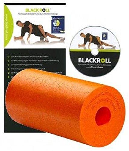 BLACKROLL KOMPLETT-SET-PLUS (6-teilig) inkl. Blackroll Pro Orange und DVD mit vielen Übungsanleitungen + Blackroll MINI + Ball 8 cm + Ball 12 cm + DuoBall 8 cm + Sportbeutel