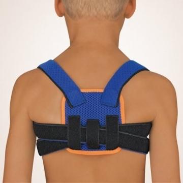 Bort StabiloFix® Rückenbandage – Geradehalter für Kinder, blau