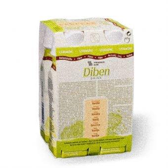 Diben Drink Vanille 1,5 Kcal/ml, 24X200 ml