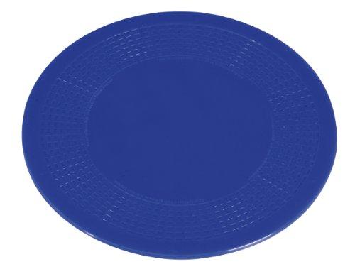 GAH-Alberts 140595 Anti-Rutsch-Unterlage – Weichgummi, blau, Ø190 mm