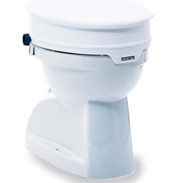 Invacare 4028698077186 Aquatec 90 Aufsteckbare Toilettensitzerhöhung