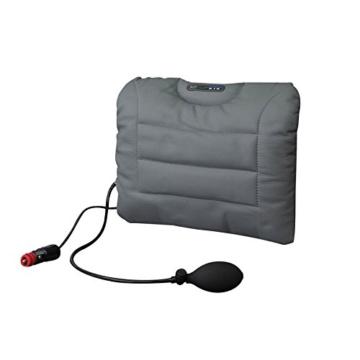 Rückenstützkissen SITBACK -Air + Heizung Leder grau od. schwarz [Misc.]