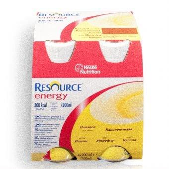 Resource Energy Banane 6x4x200 ml