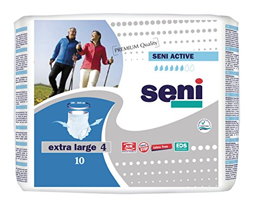 Seni Active Extra Large Gr. 4 Inkontinenzslip (1×10 Stk.)
