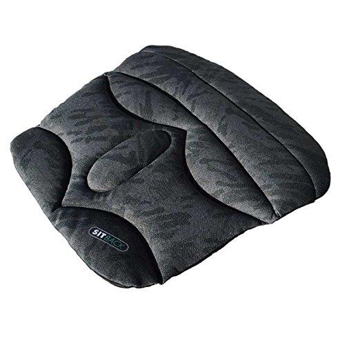 Sitzkissen SITBACK Basic, Material: Stoff, Farbe: schwarz