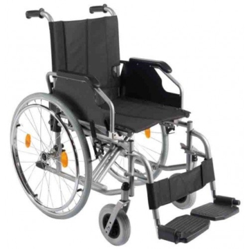 Trendmobil Rollstuhl TMB mit Steckachsensystem Reiserollstuhl Faltrollstuhl PU-Bereifung Sitzbreite 45 cm