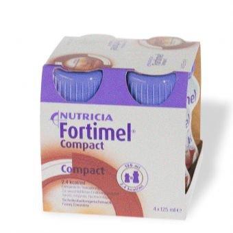 Fortimel Compact Schokoladengeschmack 8X4X125 ml -