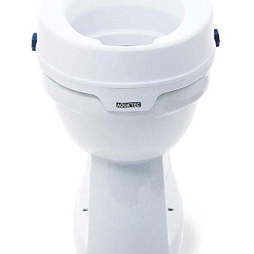 Invacare 4028698077186 Aquatec 90 Aufsteckbare Toilettensitzerhöhung -
