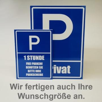 Kiwistar Parkplatzschild – Aufkleber – Drogerie – 42 x 30cm -