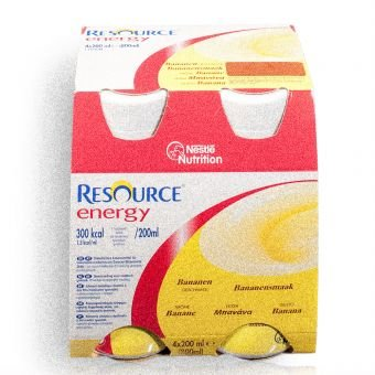 Resource Energy Banane 6x4x200 ml -