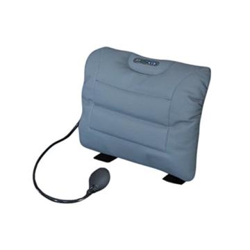 Sit-Back Air Rückenstützkissen Leder grau -