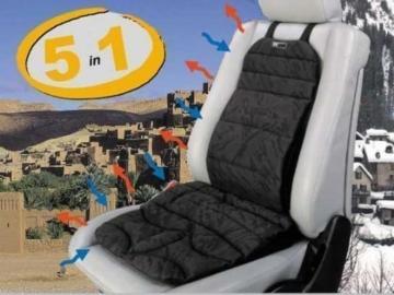 SITBACK Basic plus, 5 in 1, Ganzjahres-Sitzauflage, heizt und kühlt -