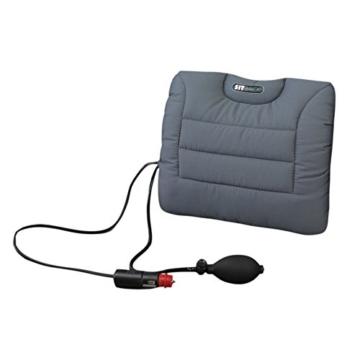 Sitback Rückenstützkissen Air + Heizung Farbe grau [Badartikel] -