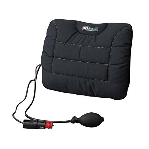 Sitback Rückenstützkissen Air + Heizung Farbe schwarz [Badartikel] -