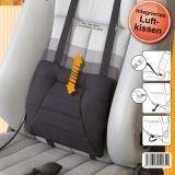SITWELL Comfort Rückenkissen mit schwarzem Stoffbezug -