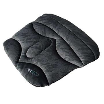 Sitzkissen SITBACK Basic, Material: Stoff, Farbe: schwarz -