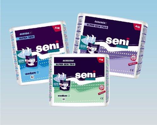 Super Seni Plus large (3 x 30 Stk.) Windelhose Bauchumfang 100 – 150 cm bei schwerer Inkontinenz -