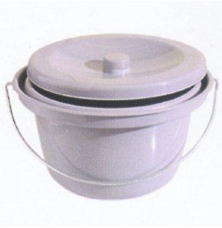 Toiletteneimer Hygieneeimer für Dusch- Toilettenstuhl von Aquatec Invacare -