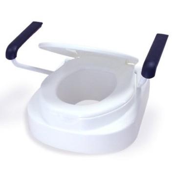 Toilettensitzerhöhung Toilettensitz Toilettenaufsatz mit Armlehnen Relaxon Star -