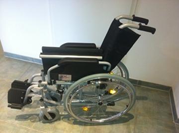Trendmobil Rollstuhl TMB mit Steckachsensystem Reiserollstuhl Faltrollstuhl PU-Bereifung Sitzbreite 45 cm -