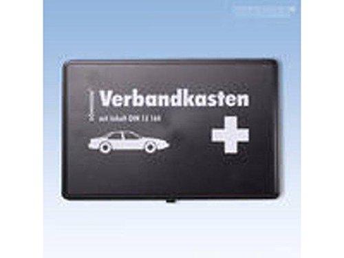 Verbandkasten Kfz schwarz mit Füllung nach Kfz-Standart DIN 13164 -